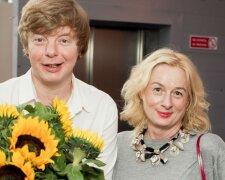 Андрій Григор'єв-Апполонов з сестрою, фото: hellomagazine.com