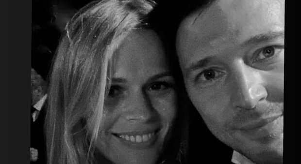Ольга Фреймут с мужем, фото: Instagram