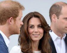 Кейт Міддлтон, принци Вільям і Гаррі, фото: Splash