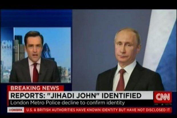 В CNN замість терориста показали Путіна