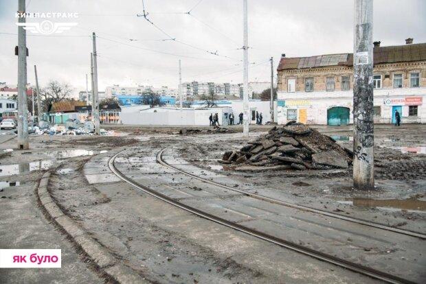 """Куреневка, фото Facebook """"Киевпастранс"""""""