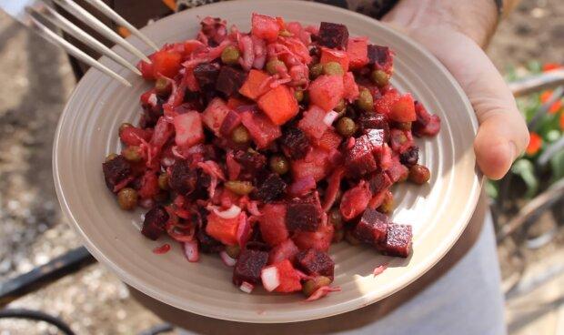 Вінегрет без відварювання овочів: 3 хвилини і готово