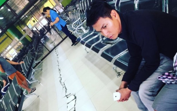 Филиппинцы пережили сильное землетрясение