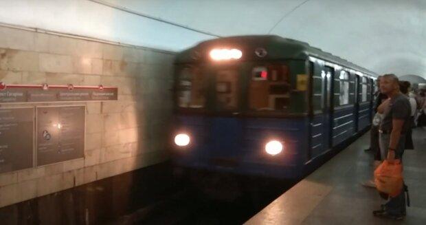 метро Харкова, скрін відео