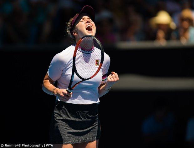 Свитолина вырвалась в четвертьфинал Australian Open