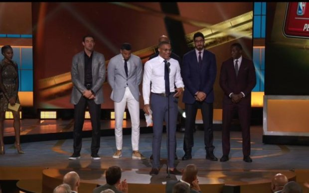 Відбулася перша в історії церемонія вручення нагород НБА