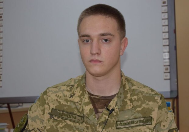 ліцеїст Євген Єлфімов, фото: штаб ООС
