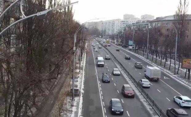 Автофиксация ПДД, кадр из видео