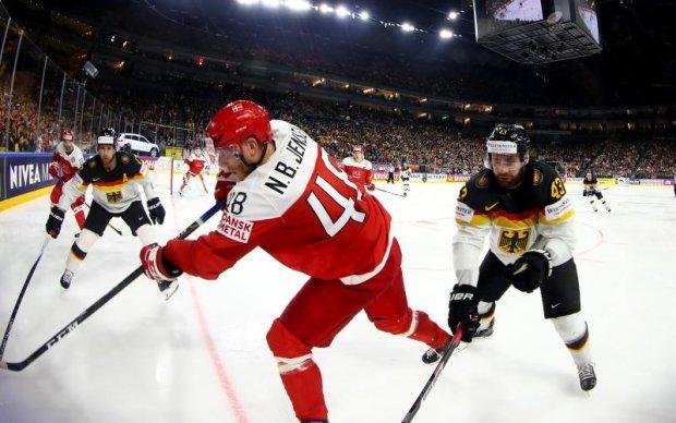 Данія - Німеччина 3:2 Відео найкращих моментів матчу ЧС-2017 з хокею