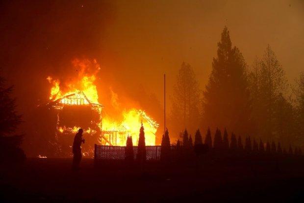 Апокалипсис в Калифорнии: пламя превратило райский уголок в ад, много погибших