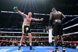 Перший бій Ф'юрі - Уайлдер завершився нічиєю, Getty Images