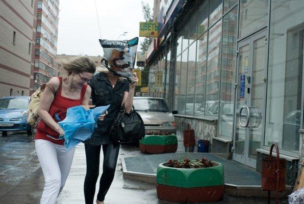 Похолодание и дождь