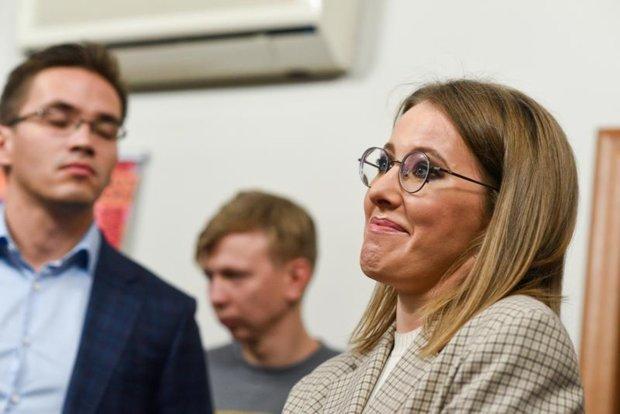 Собчак матом объяснила визит в Киев: почти прямая речь