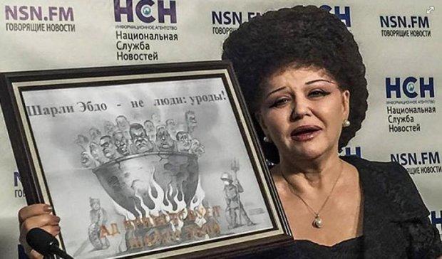 Сенатор РФ видала карикатуру з Януковичем за свою (фото)
