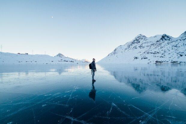 Ледник, фото pxhere