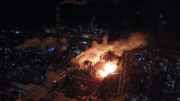 Пожар на химзаводе в Калуше: полиция возбудила уголовное дело
