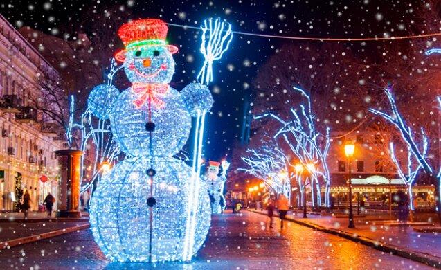 Новый Год, фото: busfor.ua