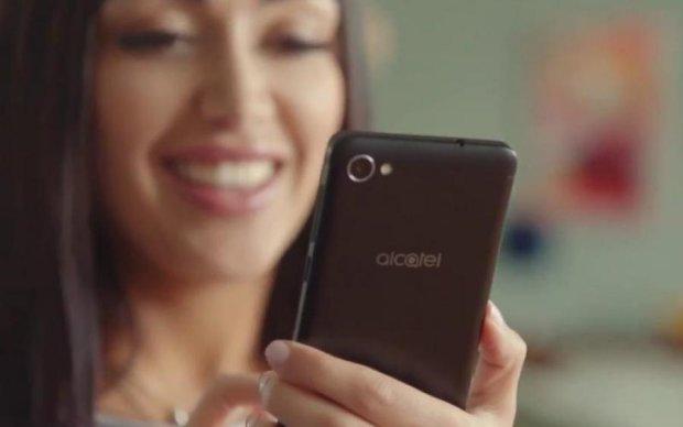 Alcatel ошелешив ціною нового смартфона