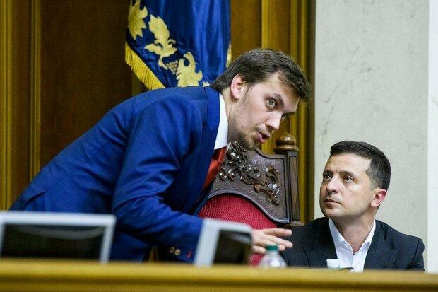 Гончарук і Зеленський, фото: Unian