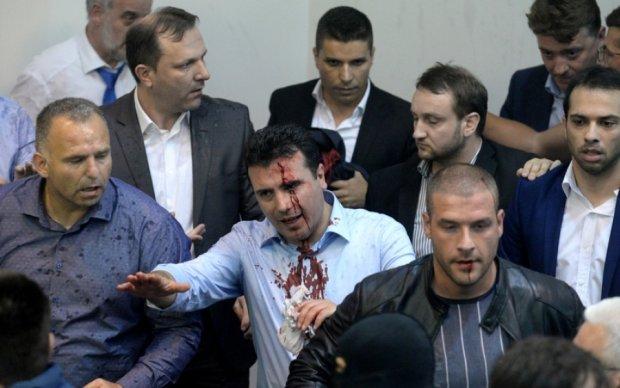 В ООН жестко отреагировали на избиение депутатов в Македонии