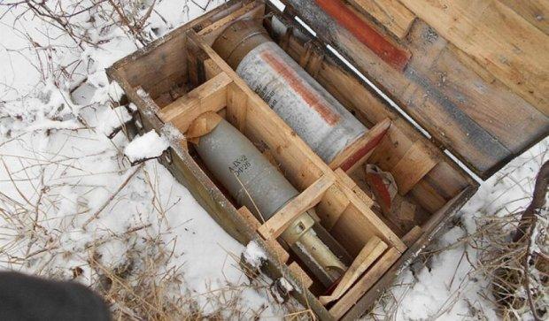 Під Волновахою виявили схованку гранатометів  диверсантів (фото)