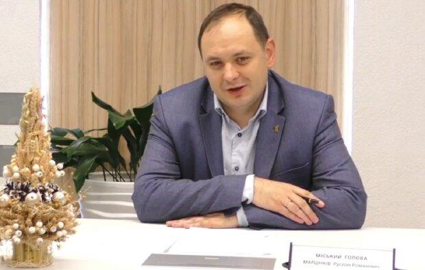 Руслан Марцинкив, кадр из прямого эфира: Facebook