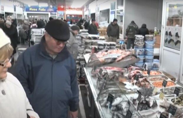 Рыбный магазин, Скрин, видео YouTube