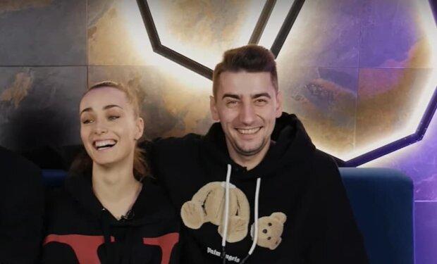 Ксения Мишина и Александр Эллерт, скриншот с видео