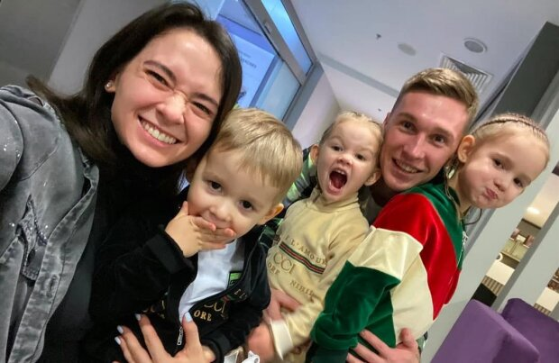 Семья Сидорчуков, фото Instagram