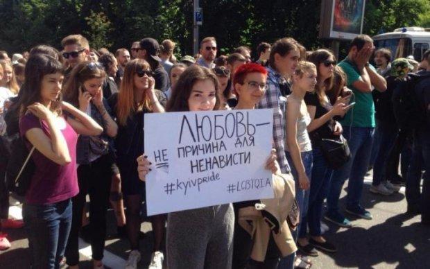 Марш ЛГБТ: на кожного учасника по копу
