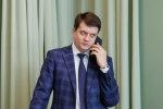 На Разумкова напали на виборчій дільниці: подробиці, відео