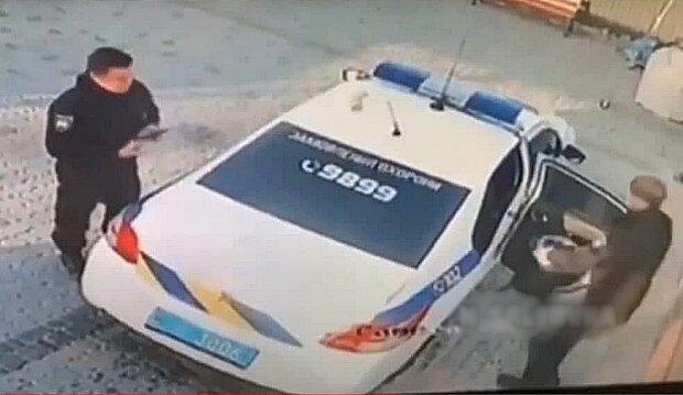 Поліцейські, скріншот з відео
