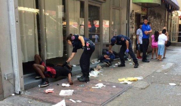 Зомбі-наркомани розгулювали вулицями Нью-Йорка
