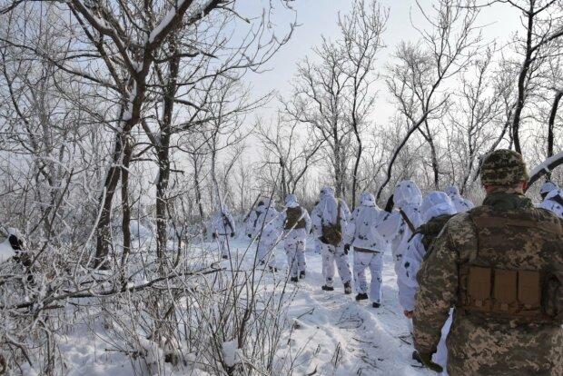 українські військові на Донбасі, фото: штаб ООС