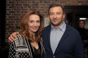 В'ячеслав Соболєв із дружиною