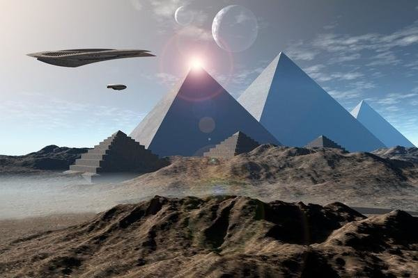 НЛО попал в пирамиду через портал: Египет скрывает под песком базы пришельцев
