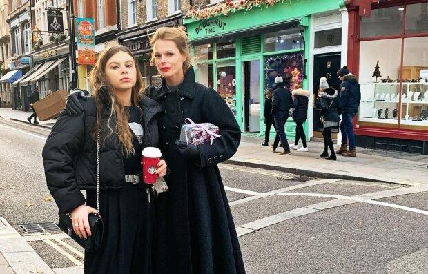 Ольга Фреймут з донькою, фото з Instagram