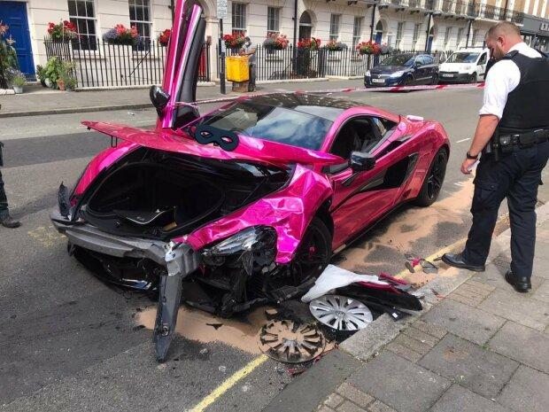 Pink McLaren 570S, gizchina