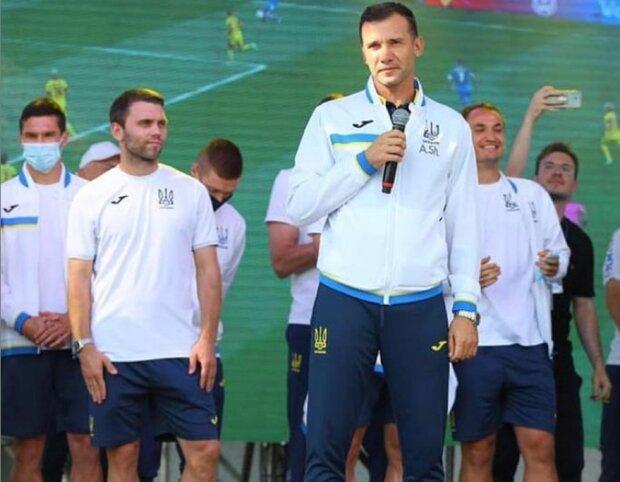 Встретили, как героев: сборная Украины во главе с Шевченко вернулась после Евро-2020