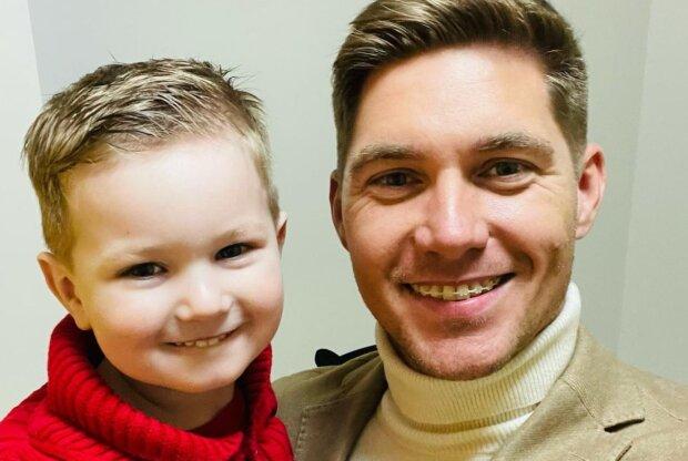 Владимир Остапчук с сыном, instagram.com/vova_ostapchuk