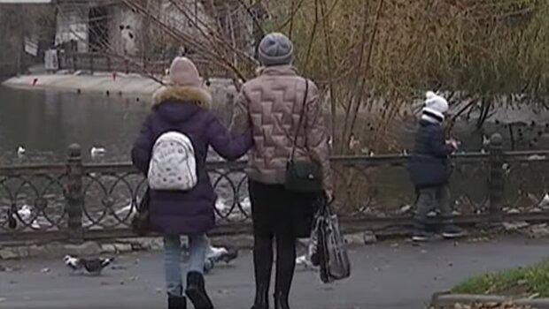 Погода в Україні, кадр з відео