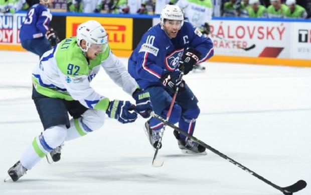 Франція - Словенія 4:1 Відео найкращих моментів матчу ЧС-2017 з хокею