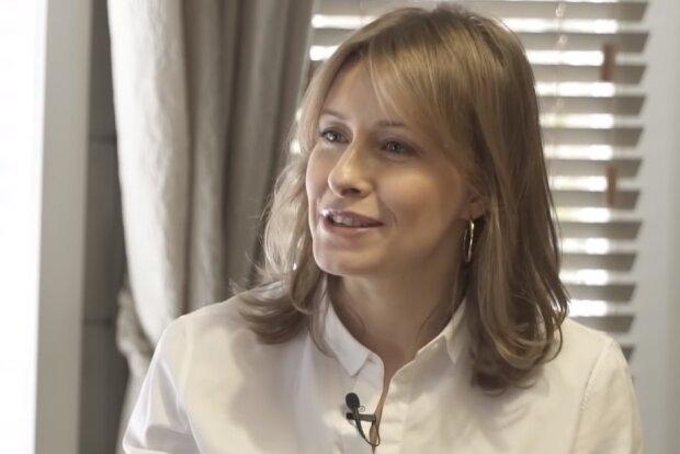 Олена Кравець, скрін з відео