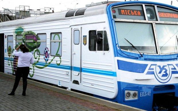 В Киеве изменят график работы городские электрички