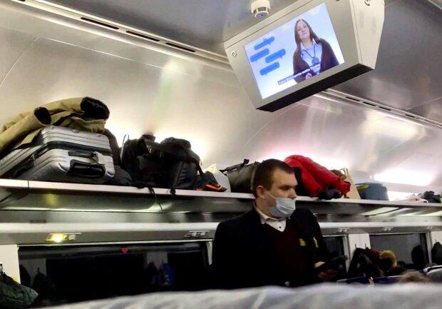 В поезде Интерсити+, фото Facebook