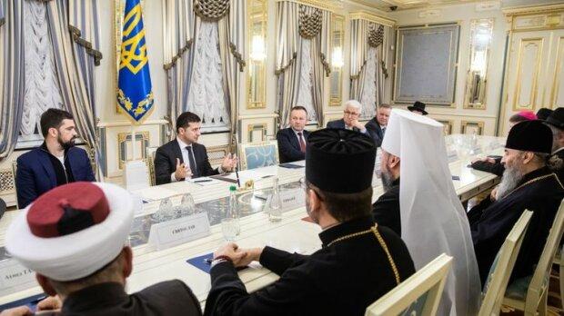 Зеленский встретился со священниками, president.gov.ua