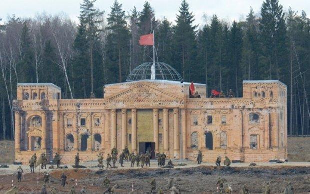 """Росіяни реконструювали """"Штурм Берліна"""": соцмережі в шоці"""