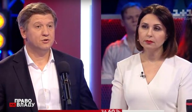 "Александр Данилюк в программе ""право на власть"""