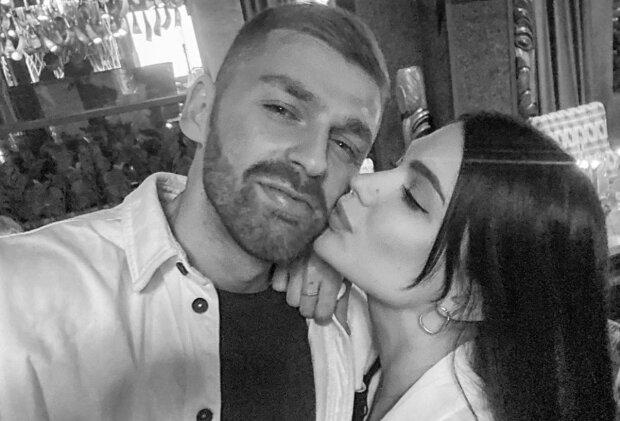 Андрей Рыбак с девушкой, instagram.com/smirnovaaalina