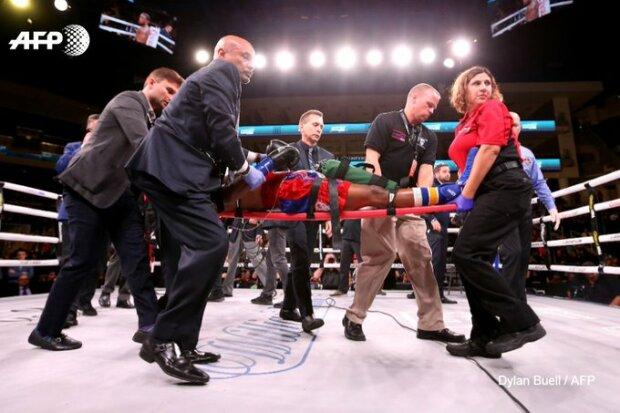 В андеркарте боя Усика произошла трагедия: боксер в коме